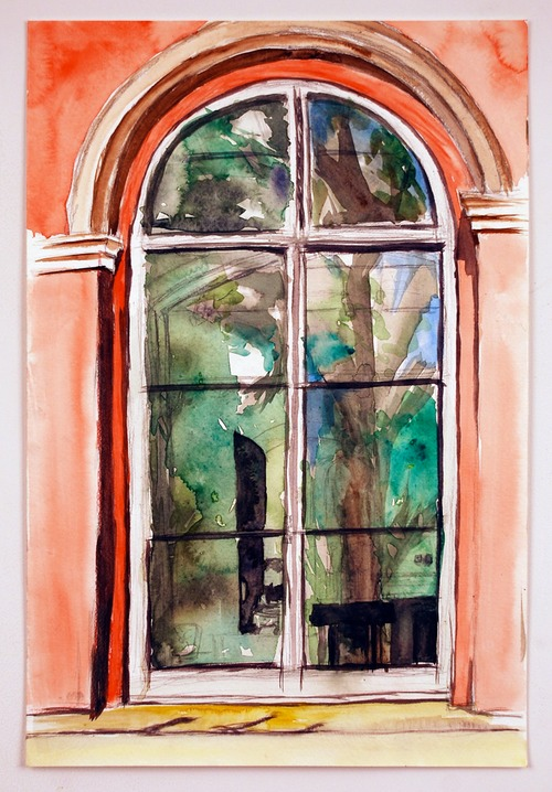 Window watercolor